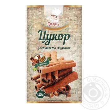 Сахар Добрык с корицей и гвоздикой 180г - купить, цены на Ашан - фото 1