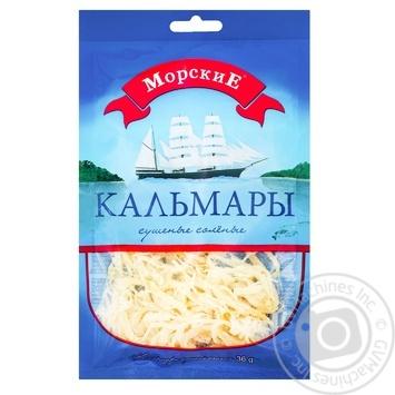 Кальмар Морские солено-сушеный 36г - купить, цены на Ашан - фото 2
