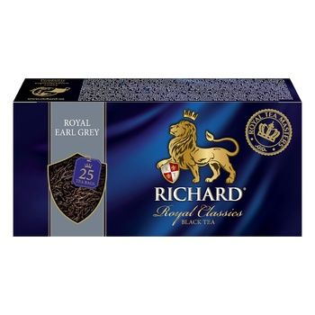 Richard Earl grey black tea 25pcs*2g - buy, prices for Novus - photo 4