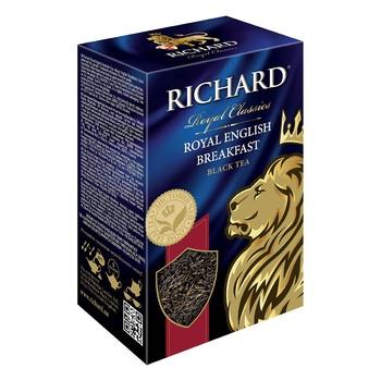 Richard English Breakfast black tea 90g - buy, prices for Auchan - photo 2