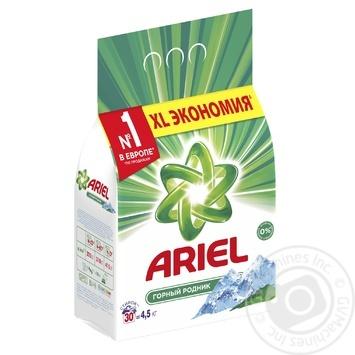 Стиральный порошок Ariel Горный Родник автомат 4,5кг - купить, цены на Ашан - фото 3