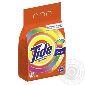Tide Color Automat Laundry Detergent Powder 2,4kg - buy, prices for Metro - image 3