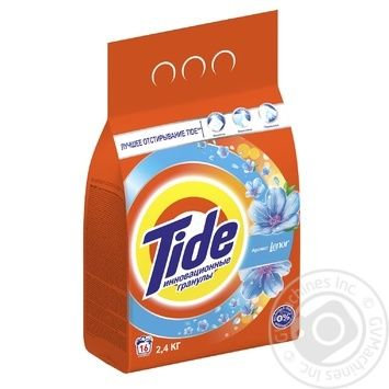 Tide Lenor Aroma Automat Laundry Powder Detergent 2,4kg - buy, prices for Novus - image 2