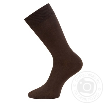 Носки Легкая Походка мужские коричневые 29р