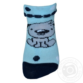 Шкарпетки Легка Хода дитячі світло-блакитні 10-12р