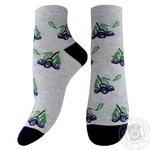 Шкарпетки жіночі Легка Хода р.25 срібло меланж
