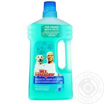 Средство Mr.Proper жидкое для уборки дома 1л - купить, цены на МегаМаркет - фото 1