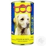 Teo Wet food with chicken for adult dogs 1250g