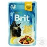 Brit Premium Canned food tuna fillet in sauce 85g