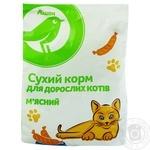 Сухий корм Ашан для дорослих котів м'ясний 400г - купити, ціни на Ашан - фото 1