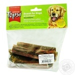 Topsi for dogs dried meat of esophagus beef 60g