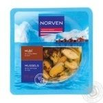 Seafood mussles Norven with spices preserves 170g
