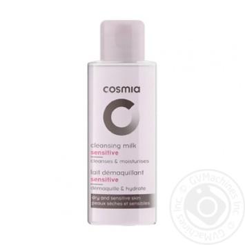 Молочко для снятия макияжа Cosmia для чувствительной и сухой кожи 75мл