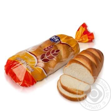 Батон Кулиничи Слобожанский пшеничный высшего сорта нарезанный 450г - купить, цены на Таврия В - фото 1