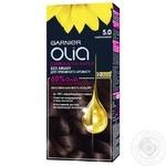 Крем-краска для волос Garnier Olia без аммиака 5.0 каштановый 112мл
