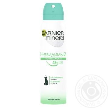 Дезодорант Garnier Mineral Невидимий для жінок 150мл - купити, ціни на Novus - фото 1