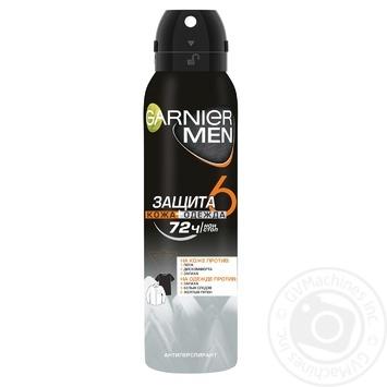 Дезодорант-спрей Garnier мужской Защита 5 150мл - купить, цены на Novus - фото 1