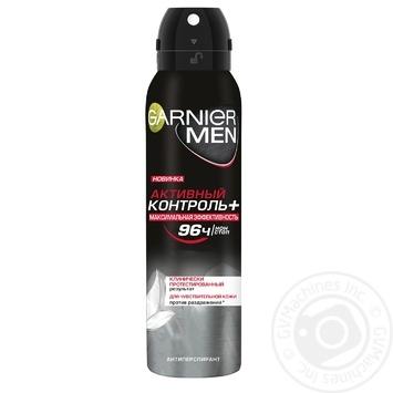 Дезодорант спрей Garnier Men Активний контроль 150мл - купити, ціни на Novus - фото 1