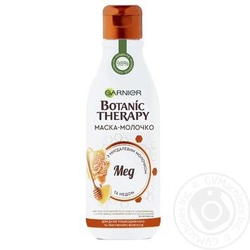 Маска-молочко Garnier Botanic therapy Мед для поврежденных и секущихся волос 250мл - купить, цены на Novus - фото 1