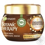 Маска Garnier Botanic Therapy Імбирне відновлення  для виснаженого та тонкого волосся 300мл - купити, ціни на Novus - фото 1