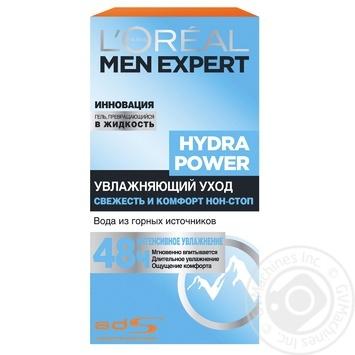 Зволожуючий засіб L'oreal Paris Men Expert Hydra Power з освіжаючим ефектом для обличчя 50мл - купити, ціни на Novus - фото 1
