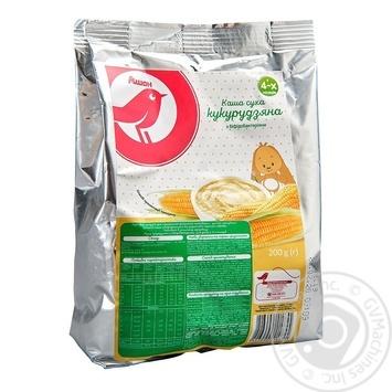 Каша Ашан кукурудзяна для дітей з 4 місяців 200г - купити, ціни на Ашан - фото 1