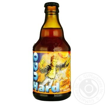 Пиво Beermix Hugo Грейпфрут 6% 0,33л - купить, цены на Novus - фото 1