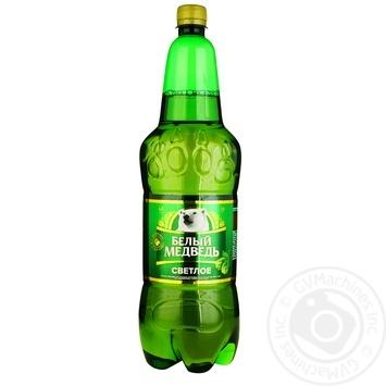 White Bear Light Beer 4.9% 1.8l - buy, prices for Furshet - image 1