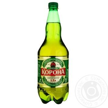 Пиво ППБ Галицкая Корона светлок 4,6% 1,2л - купить, цены на Фуршет - фото 1