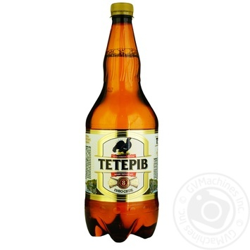 Пиво Тетерев светлое 8% 1,2л