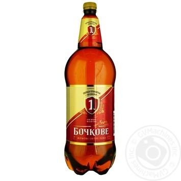 Persha Pryvatna Brovarnya Bochkove Light Beer 4,5% 2l - buy, prices for Furshet - image 1