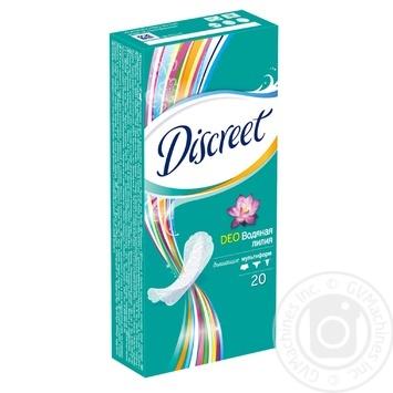 Ежедневные прокладки Discreet Deo Water Lily 20шт - купить, цены на Novus - фото 3