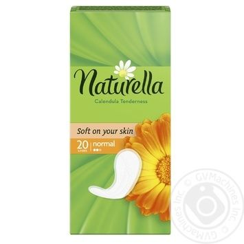 Liners Naturella Calendula Normal 20pcs - buy, prices for Novus - image 2