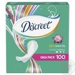 Ежедневные прокладки Discreet Deo Water Lily 100шт - купить, цены на Ашан - фото 2