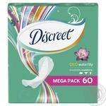 Прокладки ежедневные Discreet Water Lily Deo мультиформ 60шт - купить, цены на Восторг - фото 3
