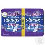 Гигиенические прокладки Always Ultra Platinum Night Duo 12шт - купить, цены на Восторг - фото 2