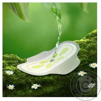 Прокладки гігієнічні Naturella Calendula Tenderness Normal 20шт - купити, ціни на Ашан - фото 3