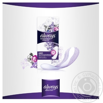Always Invisible Protection Long Single Aromatized Daily Pads 18pcs - buy, prices for CityMarket - photo 2