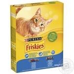 Корм Friskies С лососем и овощами сухой для взрослых кошек 300г - купить, цены на Фуршет - фото 5