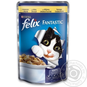 Felix Chicken Canned For Cats Food 100g