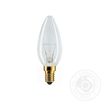 Лампа розжарювання Philips Stan 40W E14 230V B35 CL 1CT/10X10F - купити, ціни на CітіМаркет - фото 2