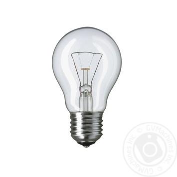 Лампа накаливания Philips Stan 75W E27 230V A55 CL 1CT/12X10F - купить, цены на Novus - фото 2