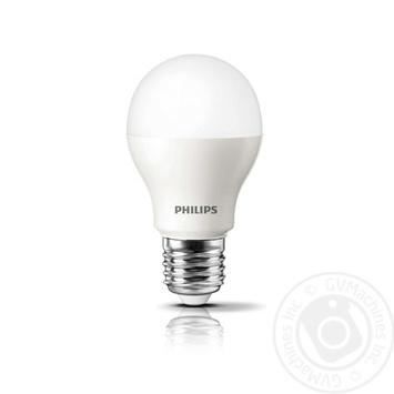 Лампа светодиодная Philips ESS LEDBulb 9W-100W E27 3000K 230V A60 RCA - купить, цены на Novus - фото 2