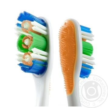 Зубная щетка Colgate 360 Суперчистота всей полости рта  средней жесткости промоупаковка 1+1 - купить, цены на Ашан - фото 8