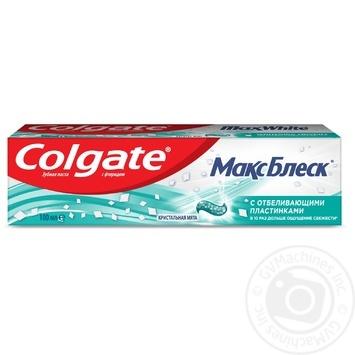 Зубная паста Colgate Макс Блеск отбеливающая 100мл - купить, цены на МегаМаркет - фото 5