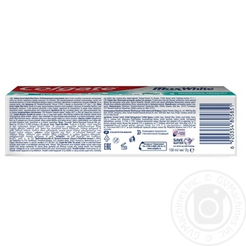 Зубная паста Colgate Макс Блеск отбеливающая 100мл - купить, цены на МегаМаркет - фото 7