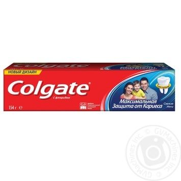 Colgate Maximal Against Caries Protection Fresh Mint Toothpaste 100ml - buy, prices for Furshet - image 8