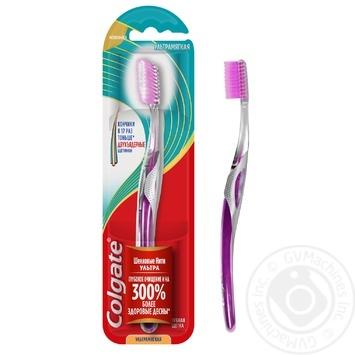 Зубна щітка Colgate Шовкові нитки Ультра м'яка в асортименті - купити, ціни на Ашан - фото 7