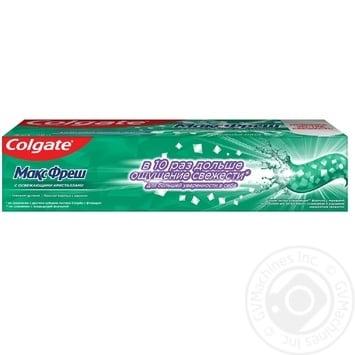 Зубная паста Colgate Макс Фреш Нежная Мята 100мл - купить, цены на Фуршет - фото 5