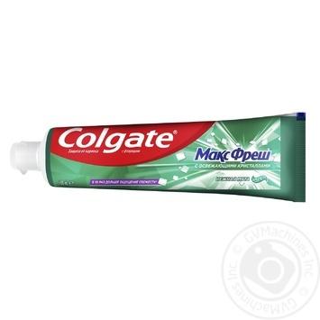 Зубная паста Colgate Макс Фреш Нежная Мята 100мл - купить, цены на МегаМаркет - фото 6